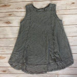 Staccato | Striped Flare Tank Size S